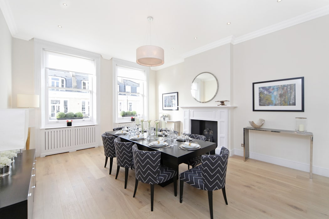Dining room by Hampstead Design Hub, Modern