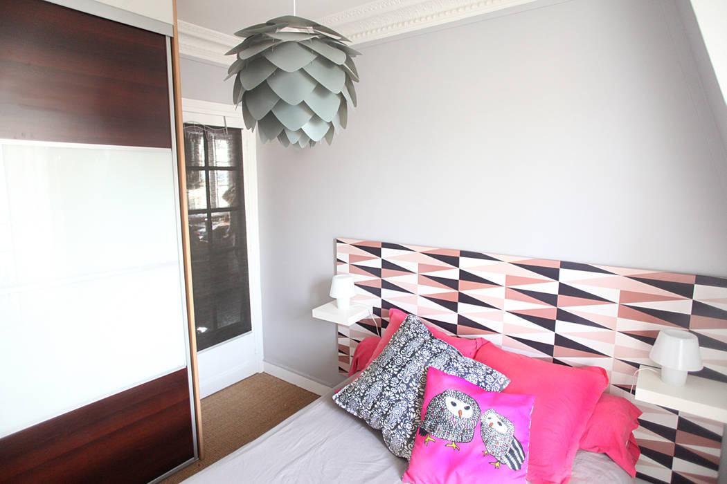 Chambre à coucher: Chambre de style  par Sandra Dages