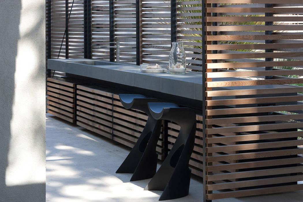 Maison WP Balcon, Veranda & Terrasse modernes par Vincent Coste Architecte Moderne