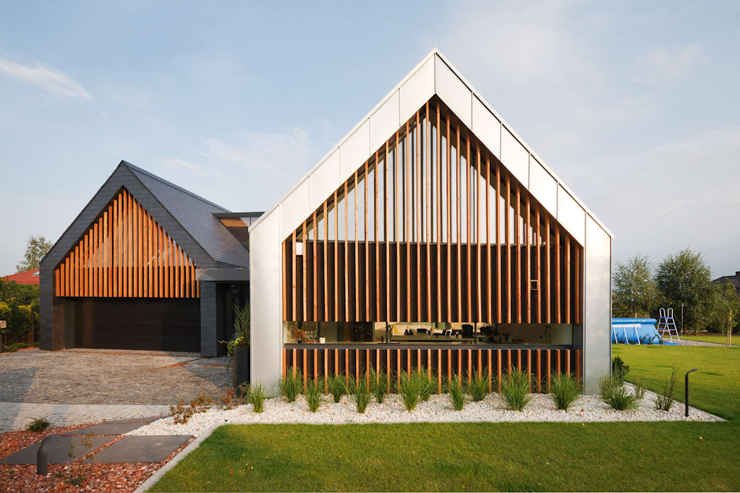 Houses by RS+ Robert Skitek, Modern