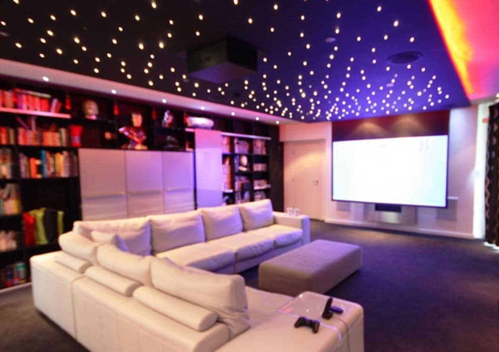 Home Cinema Modern media room by Inspire Audio Visual Modern