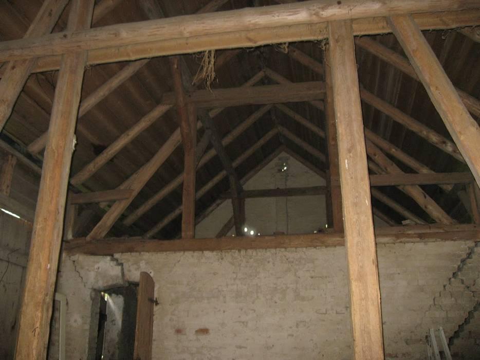 Przebudowa stodoły : styl , w kategorii  zaprojektowany przez AA s.c. Anatol Kuczyński Anna Kuczyńska