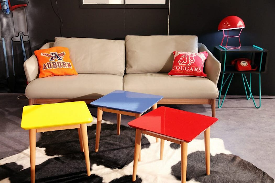 Salon 80's: Salon de style de style eclectique par Sandra Dages