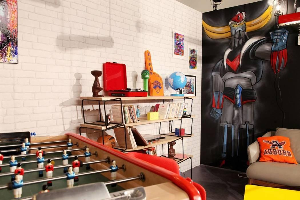 Goldorak Salon original par Sandra Dages Éclectique
