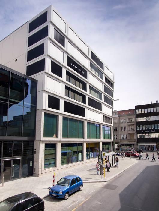 Boulevard Berlin:  Einkaufscenter von Ortner & Ortner Baukunst Ziviltechnikergesellschaft mbH