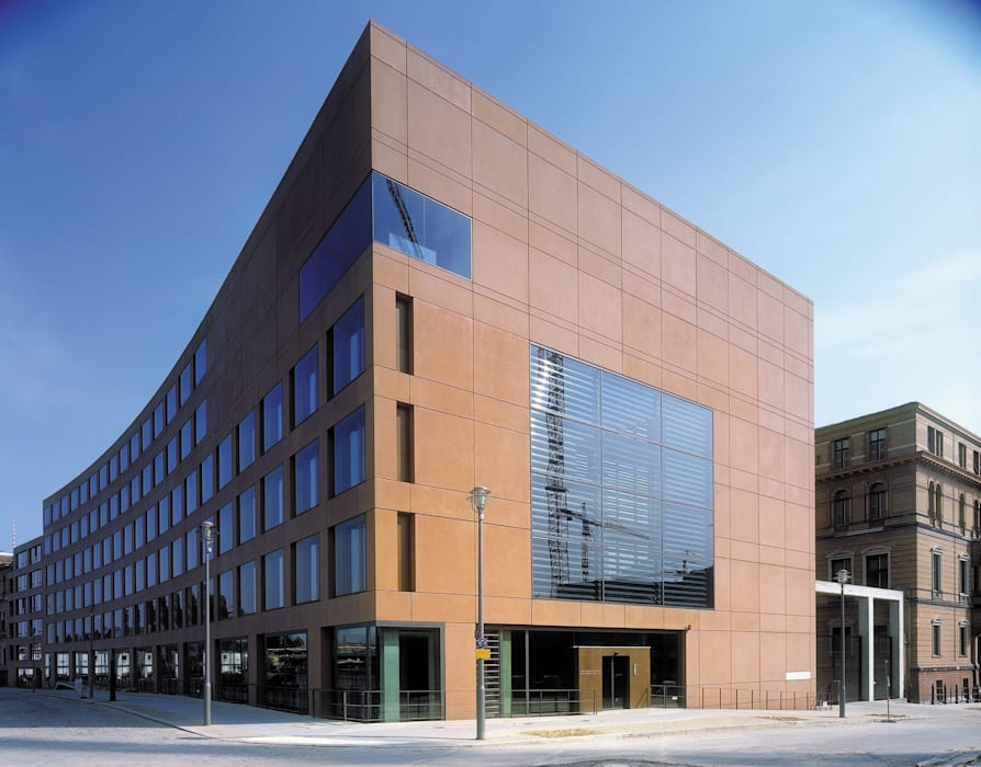 ARD Hauptstadtstudios:  Bürogebäude von Ortner & Ortner Baukunst Ziviltechnikergesellschaft mbH,