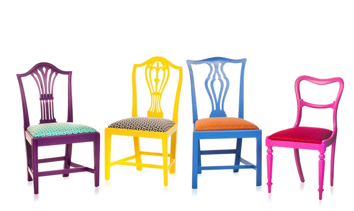 Klash Chairs Standrin Sala de jantarCadeiras e bancos Madeira maciça Multi colorido