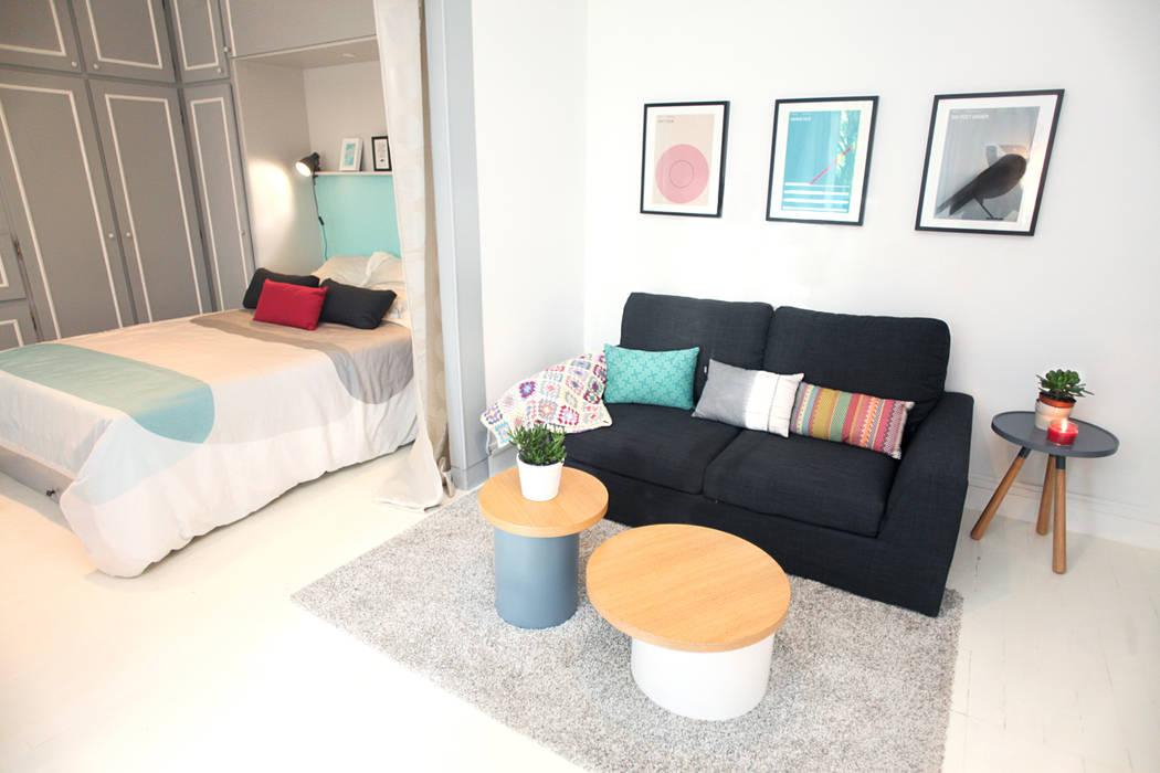 Eclectische woonkamers van Sandra Dages Eclectisch