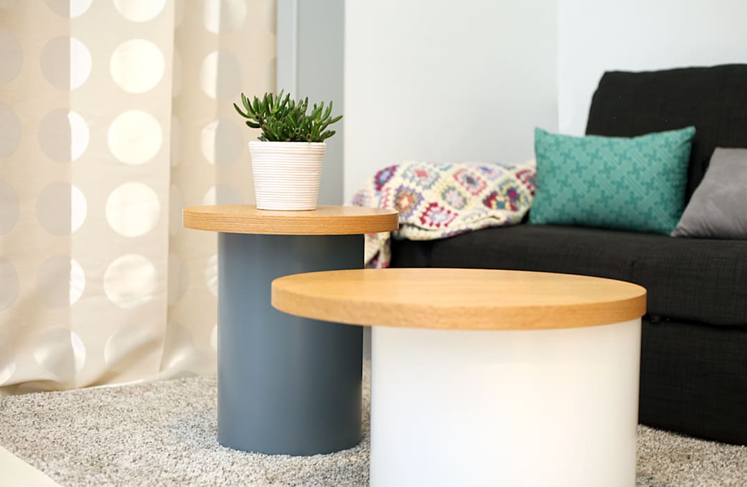 Tables basses: Salon de style de style eclectique par Sandra Dages