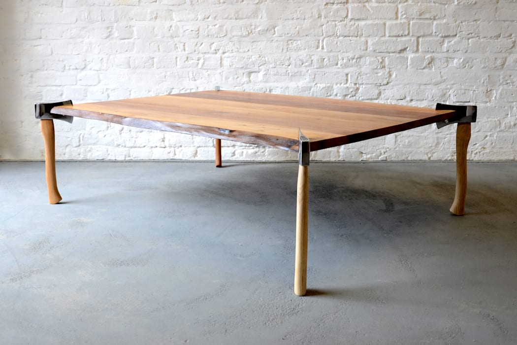 WOODSMAN AXE TABLE:   by Duffy London,