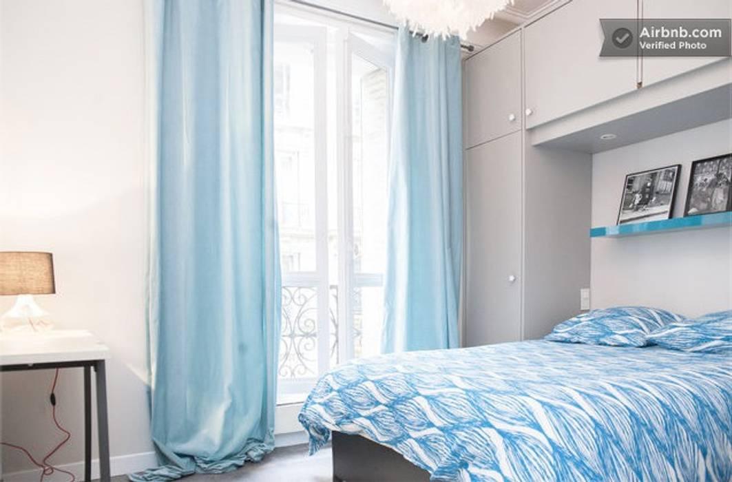 Chambre à coucher Salon scandinave par Sandra Dages Scandinave