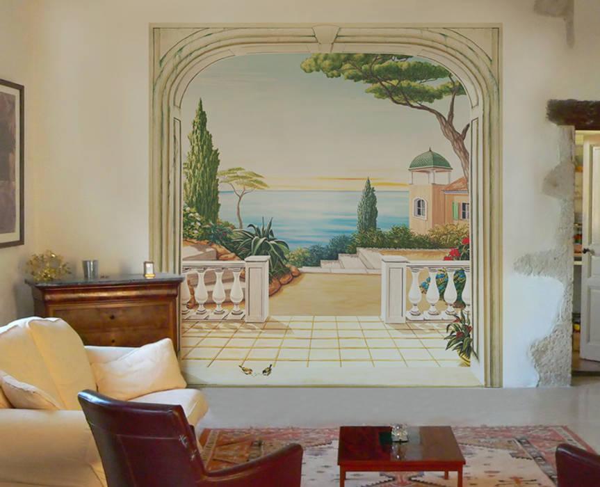 Papier Peint Panoramique Paysage Italien Murs Sols De Style Par