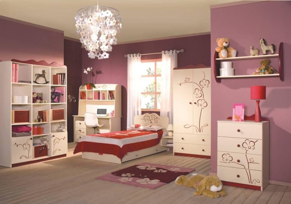 Kinderzimmer Orchidee Weinrot:  Kinderzimmer von Möbelgeschäft MEBLIK