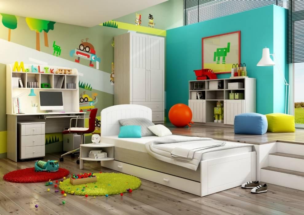 Kinderzimmer Nordic:  Kinderzimmer von Möbelgeschäft MEBLIK