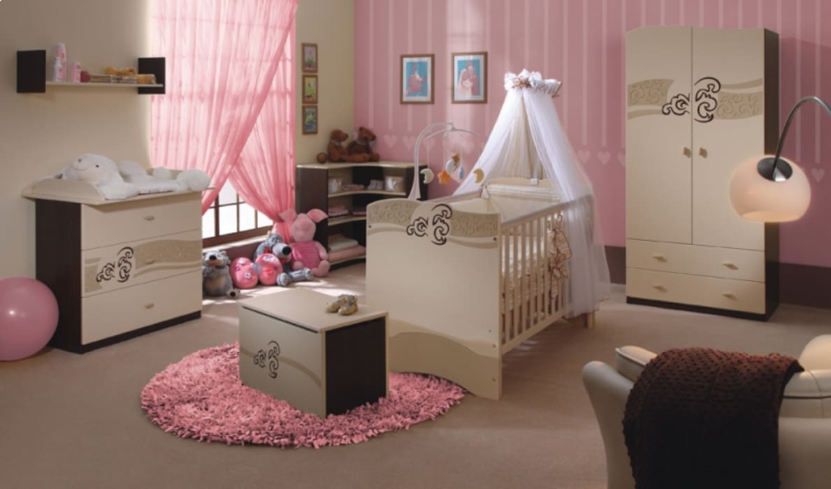 Babyzimmer Carmel:  Kinderzimmer von Möbelgeschäft MEBLIK