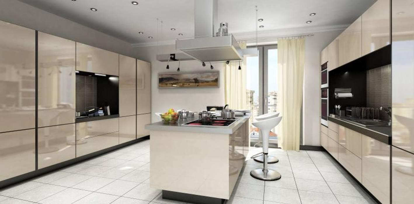 Cocinas de estilo moderno de MONO MİMARLIK İNŞAAT Moderno