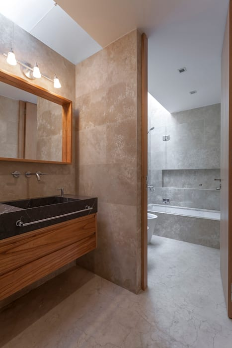 Bathroom by ESTUDIO GEYA, Modern