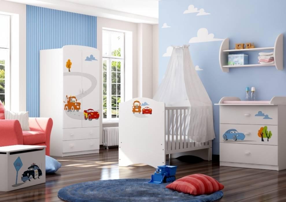 Babyzimmer Cars:  Kinderzimmer von Möbelgeschäft MEBLIK