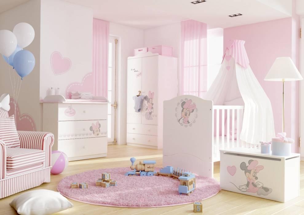 Babyzimmer minnie mouse: kinderzimmer von möbelgeschäft meblik | homify
