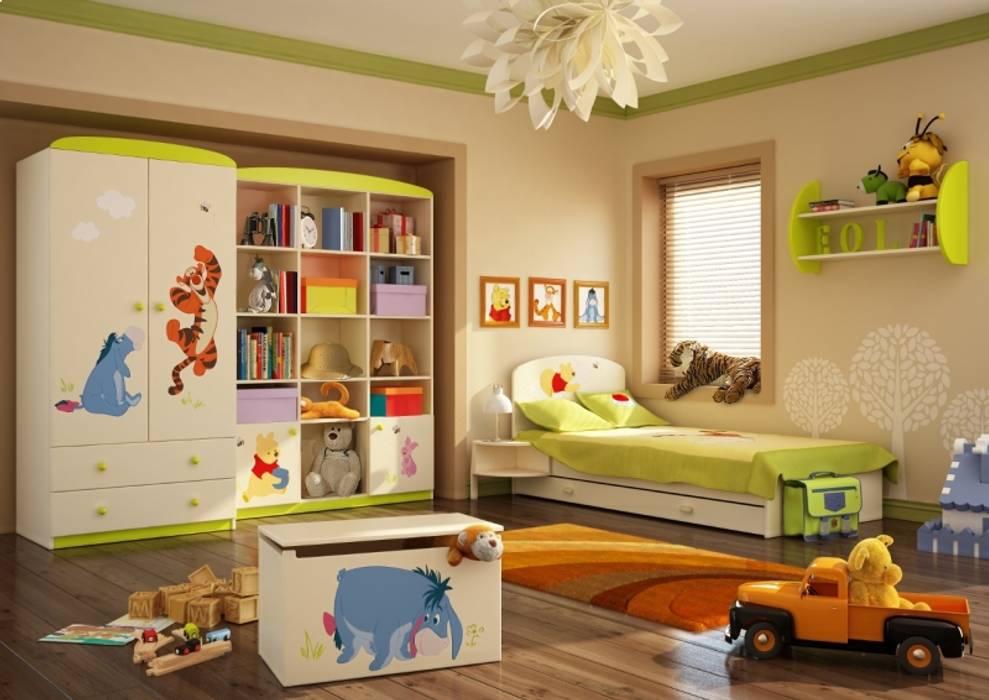 Kinderzimmer Winnie Puuh:  Kinderzimmer von Möbelgeschäft MEBLIK