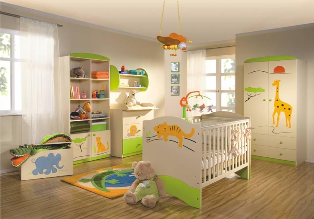 Babyzimmer Savanne:  Kinderzimmer von Möbelgeschäft MEBLIK