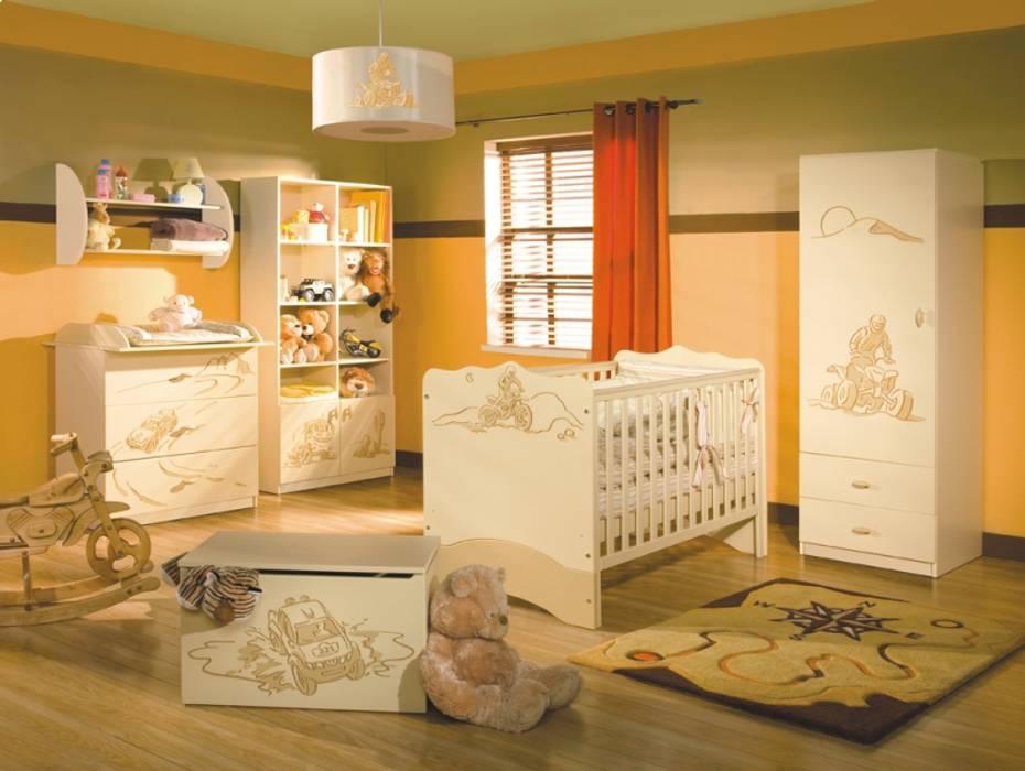 Babyzimmer Dakar Moderne Kinderzimmer von Möbelgeschäft MEBLIK Modern