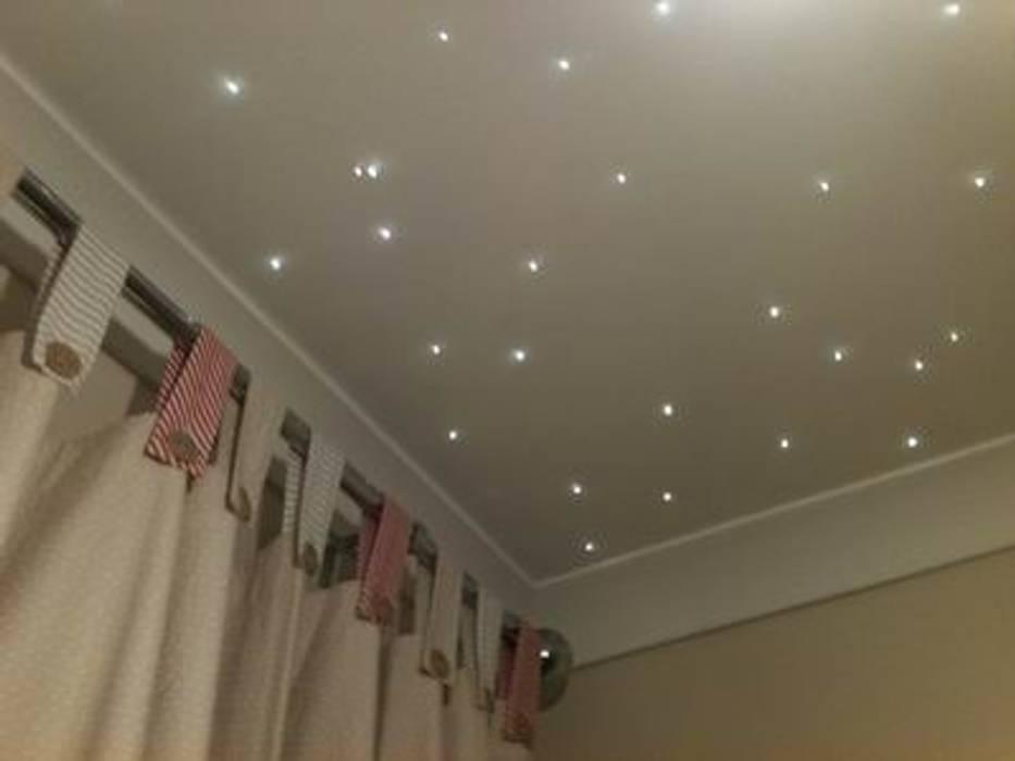 Starlight nursery ceilings: modern Nursery/kid's room by Lancashire design ceilings