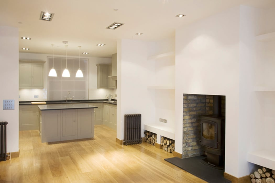 Pimlico Kitchen:  Kitchen by Link Photographers
