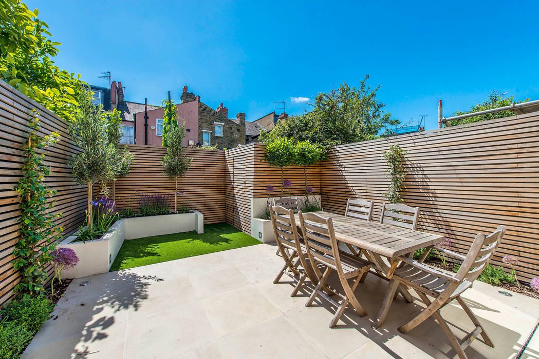 Rear Garden Modern Terrace by homify Modern