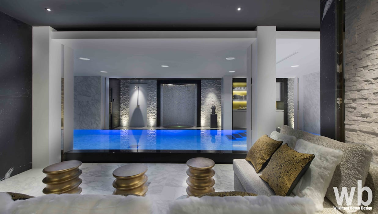 Swimming Pool & Spa by Wilkinson Beven Design Modern