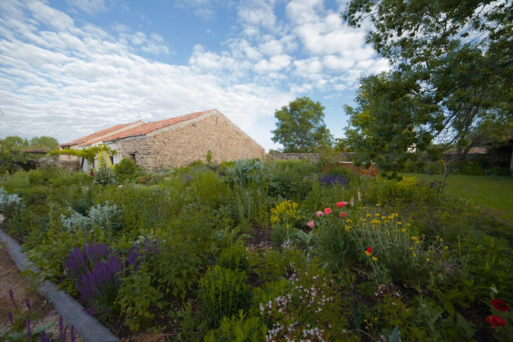 Jardín en Segovia Jardines de estilo rural de Planta Paisajistas Rural