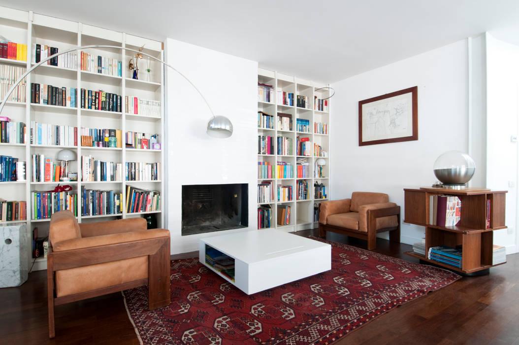 LOFT PAOLO FRELLO & PARTNERS Soggiorno minimalista