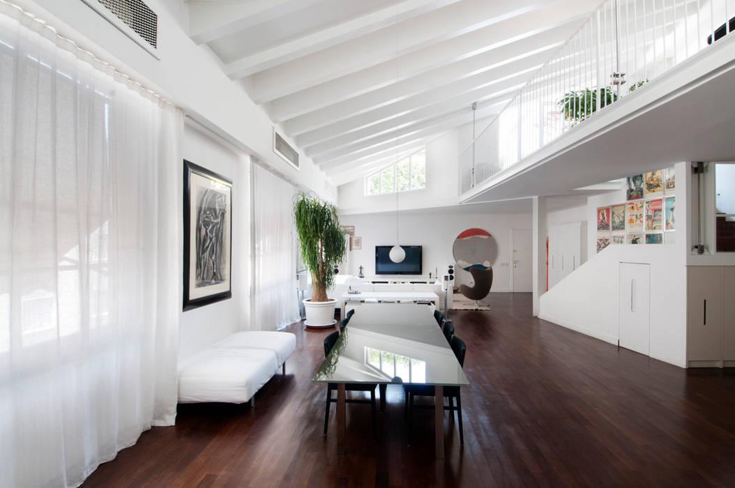 PAOLO FRELLO & PARTNERS Minimalist dining room