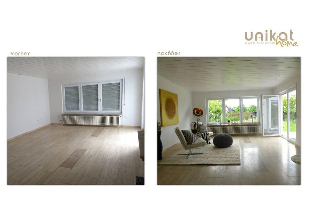 Einfamilienhaus mit Garten von Unikat-home staging