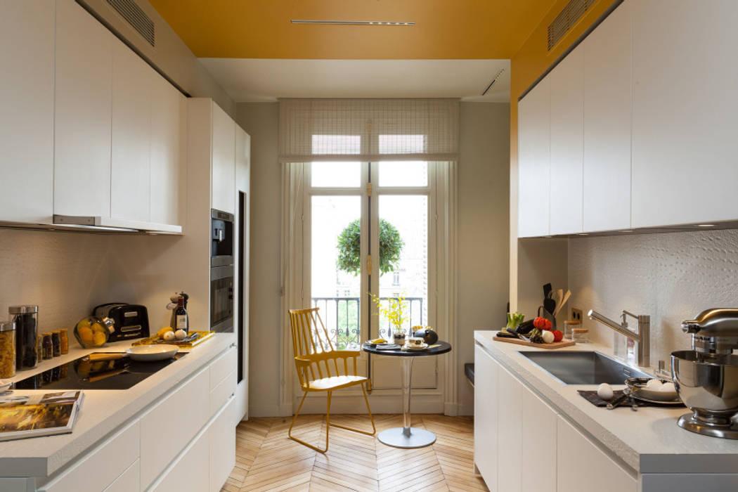 Georges V Cuisine moderne par Concrete LCDA Moderne Béton