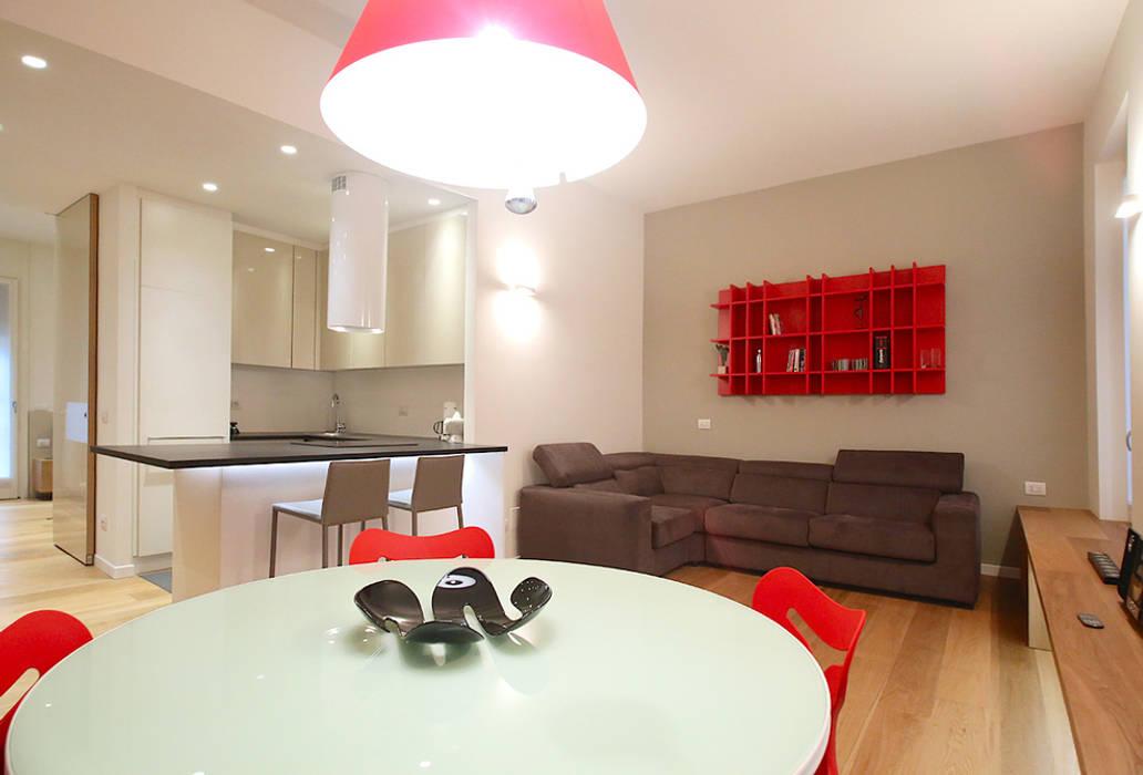 Soggiorno: Sala da pranzo in stile in stile Minimalista di Filippo Colombetti, Architetto