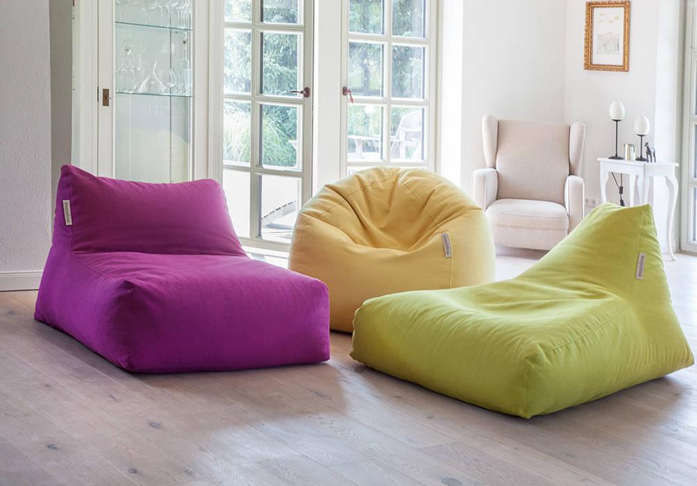 Pushbag- 4-Living - Chair, Angel und BAG 50 in Soft Global Bedding GmbH & Co.KG WohnzimmerSofas und Sessel