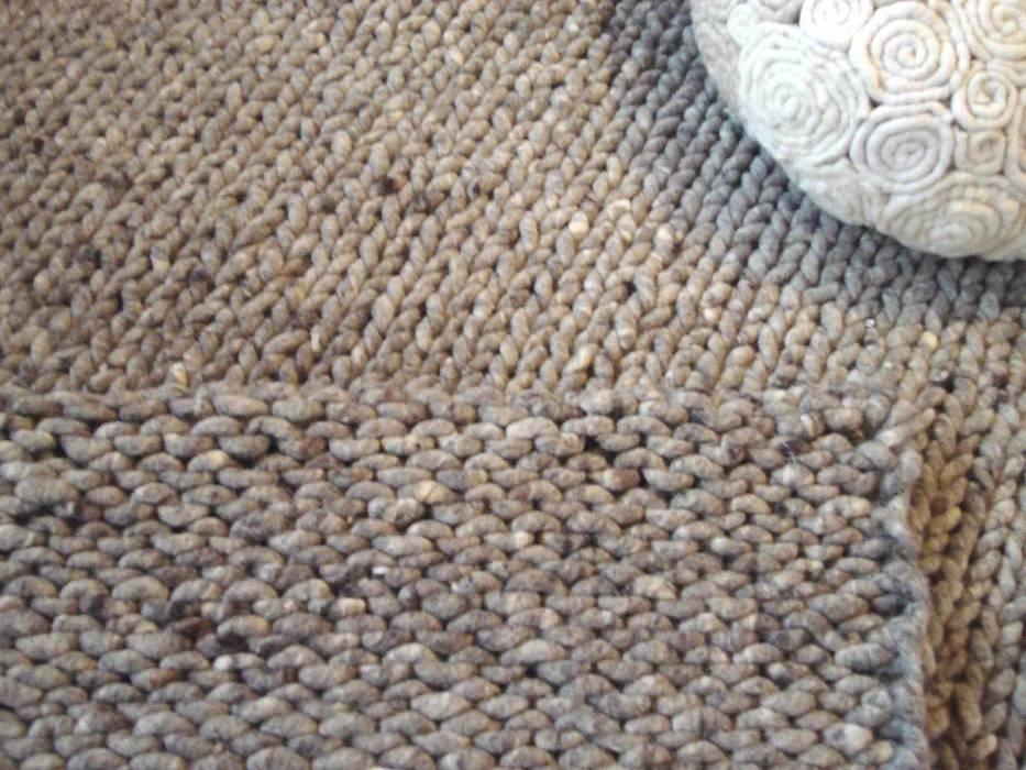 Strick-Teppich von jeannis.art Rustikal