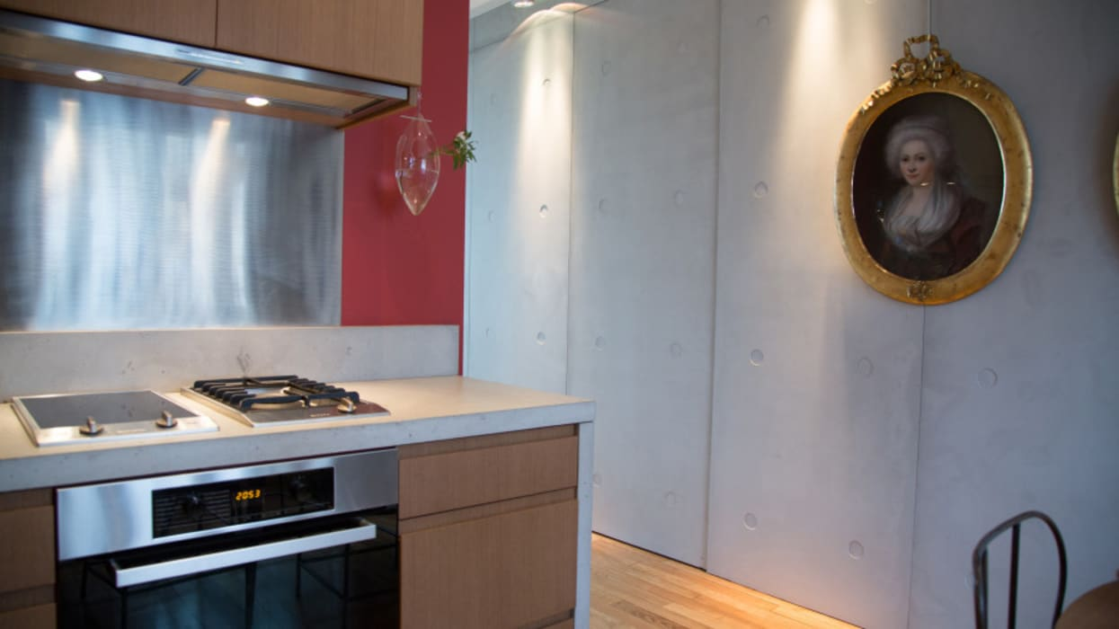 Appartement privé, Paris VI Cuisine moderne par Concrete LCDA Moderne