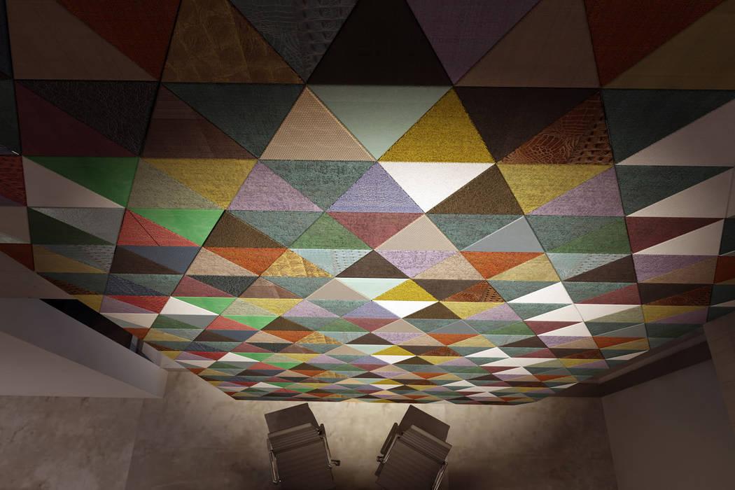 Lapèlle Design leather tiles par Lapèlle Design Industriel