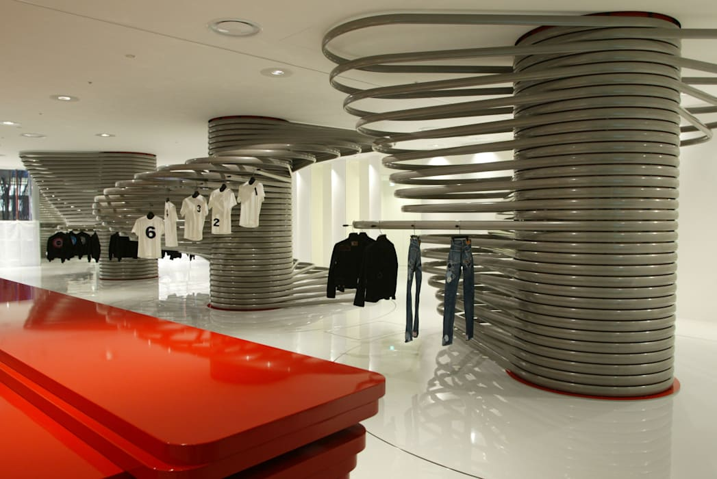Y's Modern shopping centres by Ron Arad Architects Modern