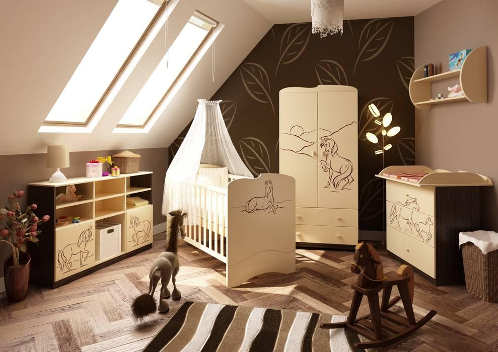 Babyzimmer Mustang Moderne Kinderzimmer von Möbelgeschäft MEBLIK Modern