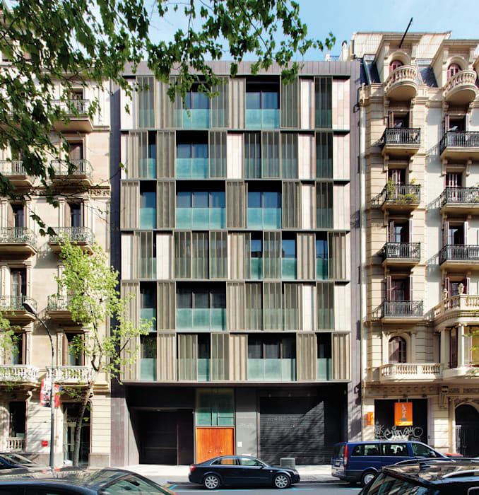 Viviendas de obra nueva casas de estilo de santi vives arquitectura homify - Casa nueva viviendas ...