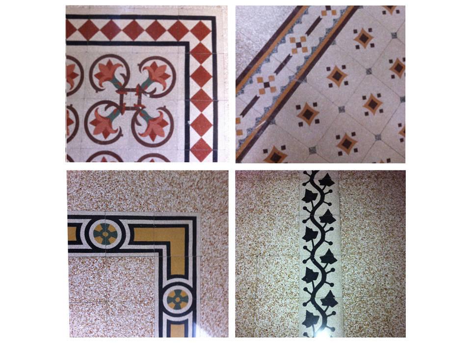 Restauro conservativo del Villino Orsini Pareti & Pavimenti in stile classico di Laura Marini Architetto Classico
