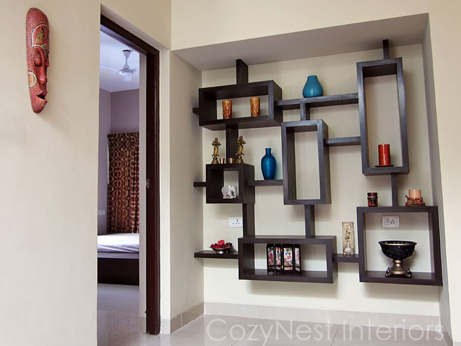 Subramanian Residence Modern living room by Cozy Nest Interiors Modern