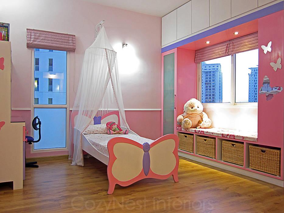 Jha Residence: modern Nursery/kid's room by Cozy Nest Interiors