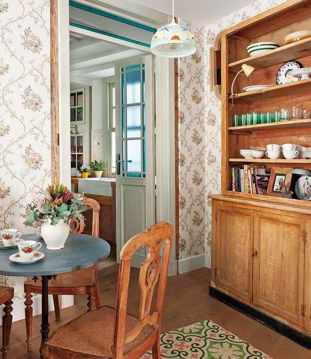 Reforma integral de vivienda: Comedores de estilo  de Simetrika Rehabilitación Integral