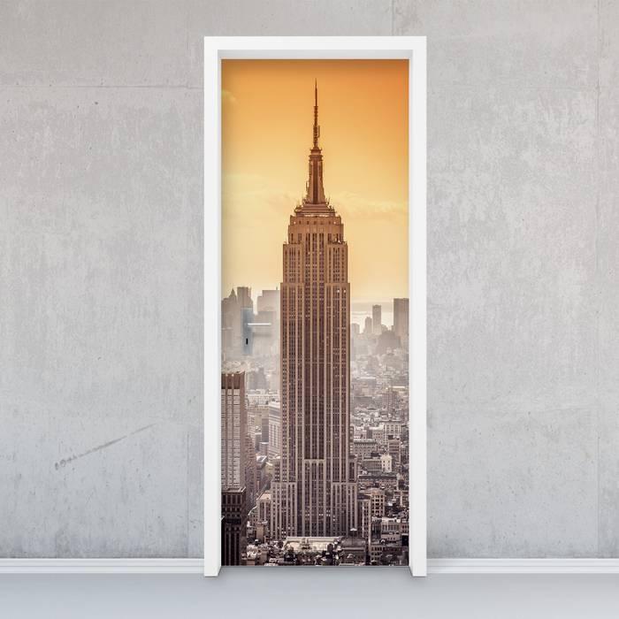 Türfolie - Empire State Building: industriell  von creatisto GmbH,Industrial
