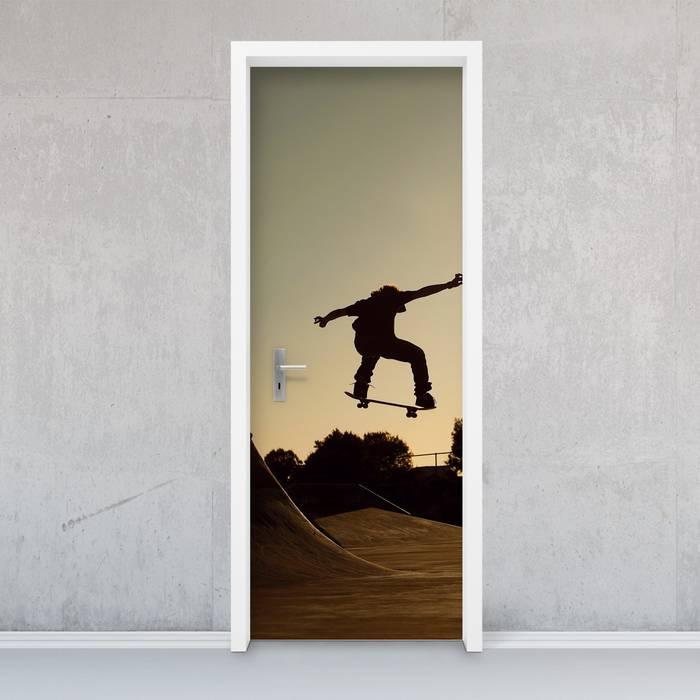 Türfolie - Skater: modern  von creatisto GmbH,Modern