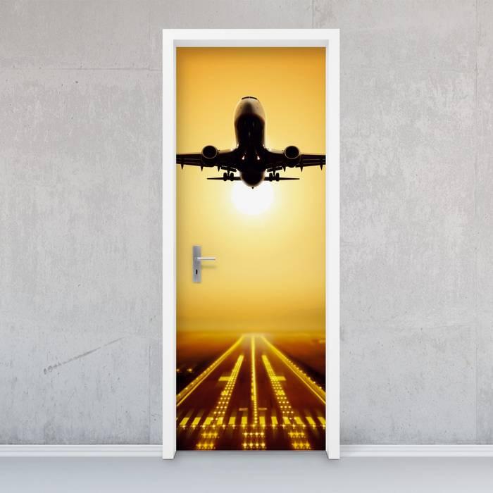 Türfolie - Starting Plane: industriell  von creatisto GmbH,Industrial